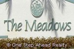 The Meadows community sign